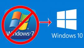 Konec podpory Windows 7, možnost upgradu na Windows 10 jen do 14.1.2020!